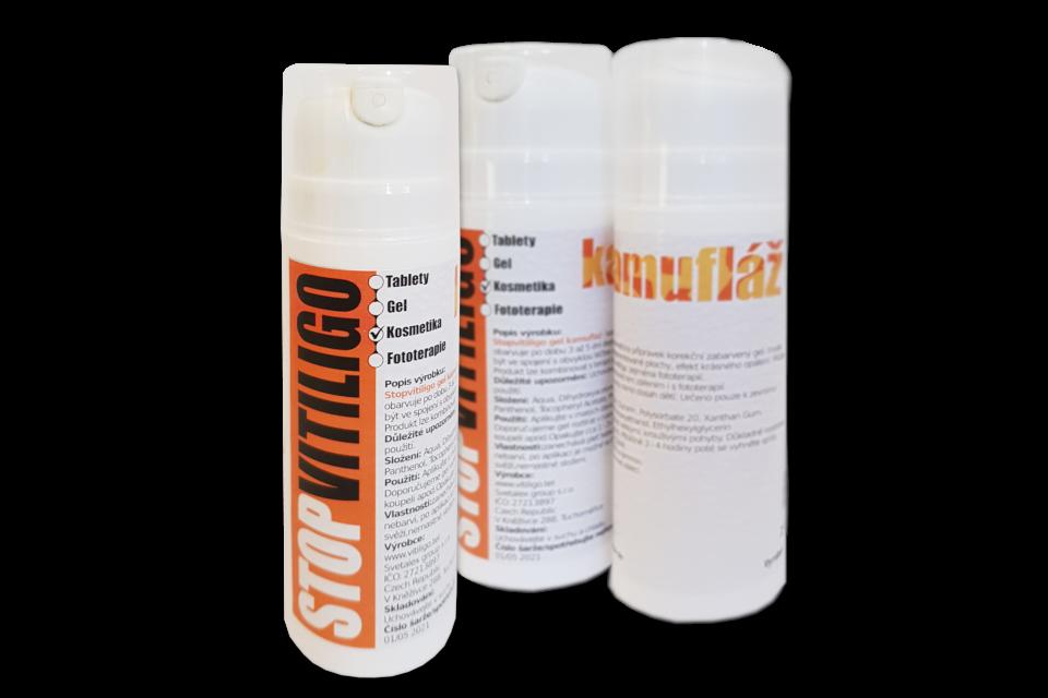 СТОП ВИТИЛИГО КАМУФЛЯЖ (Stop Vitiligo kamufláž) — маскирующий гель